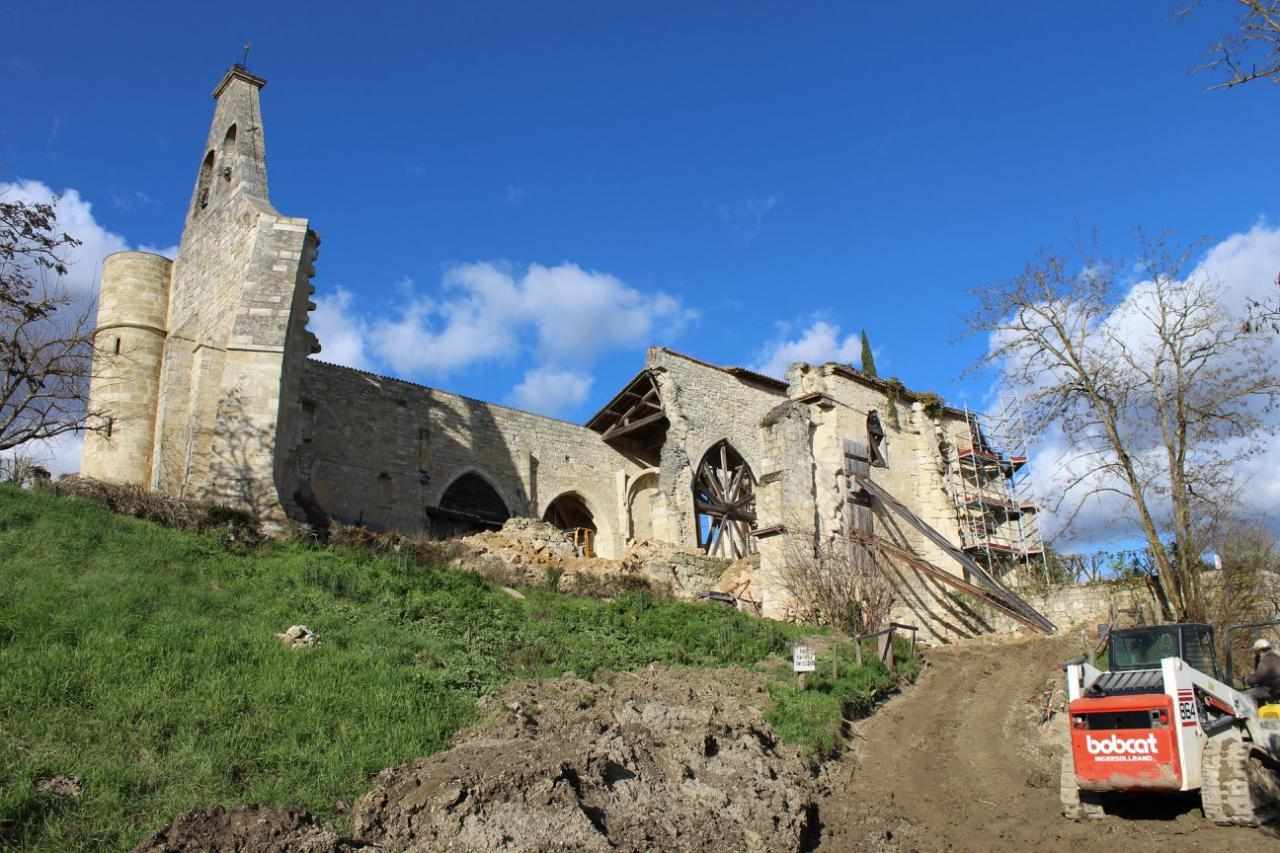 2018: Restauration de la chapelle castrale