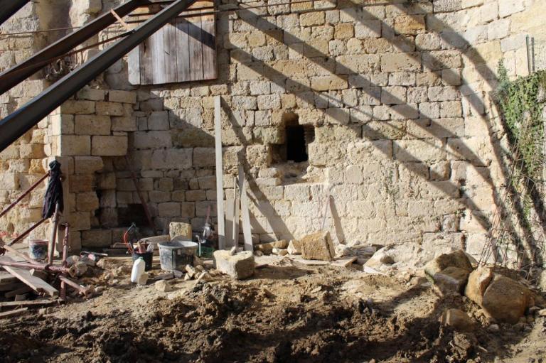 Consolidation de la chapelle castrale