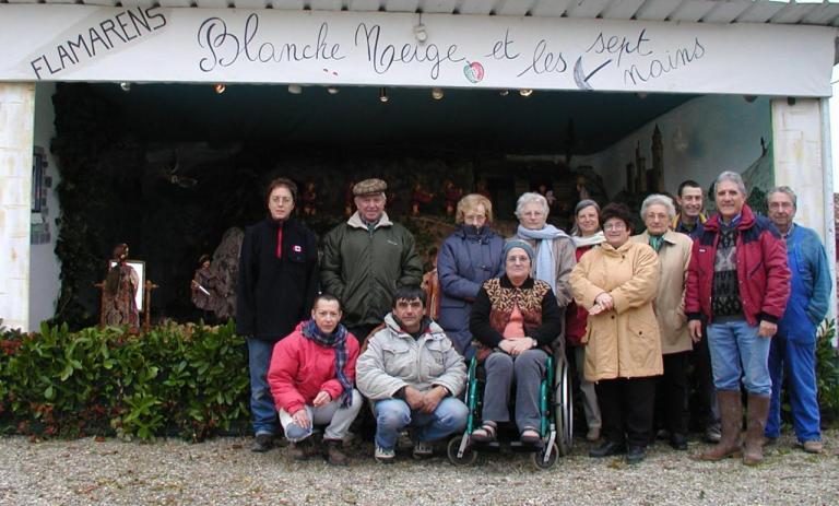 L'équipe de bénévoles de la crêche