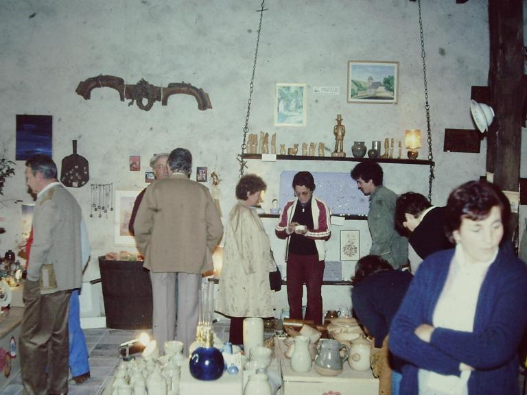 Inauguration de la galerie-1983