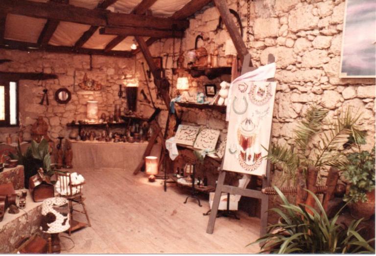 Premières expositions artisanales