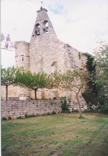 Le clocher et son contrefort
