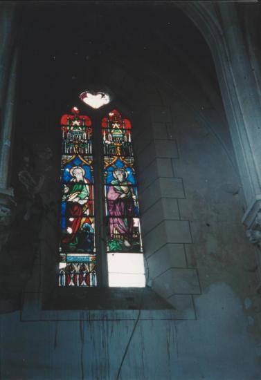 les vitraux du choeur