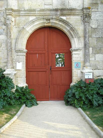 La porte d'entrée repeinte - 2012