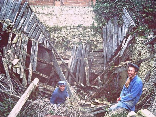 Démolition des maisons en ruine - 1981