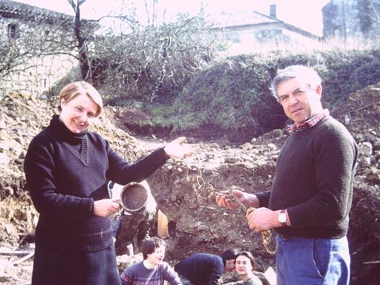 Chantier de fouilles -1983