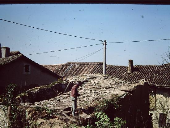 Démolition des maisons en ruines - 1981