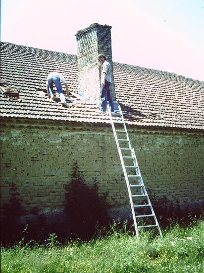 réparation de la cheminée