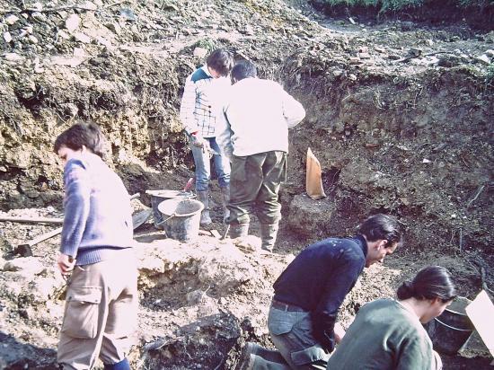 Chantier de fouilles