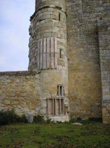 Etayage de la tour de guêt - 2007