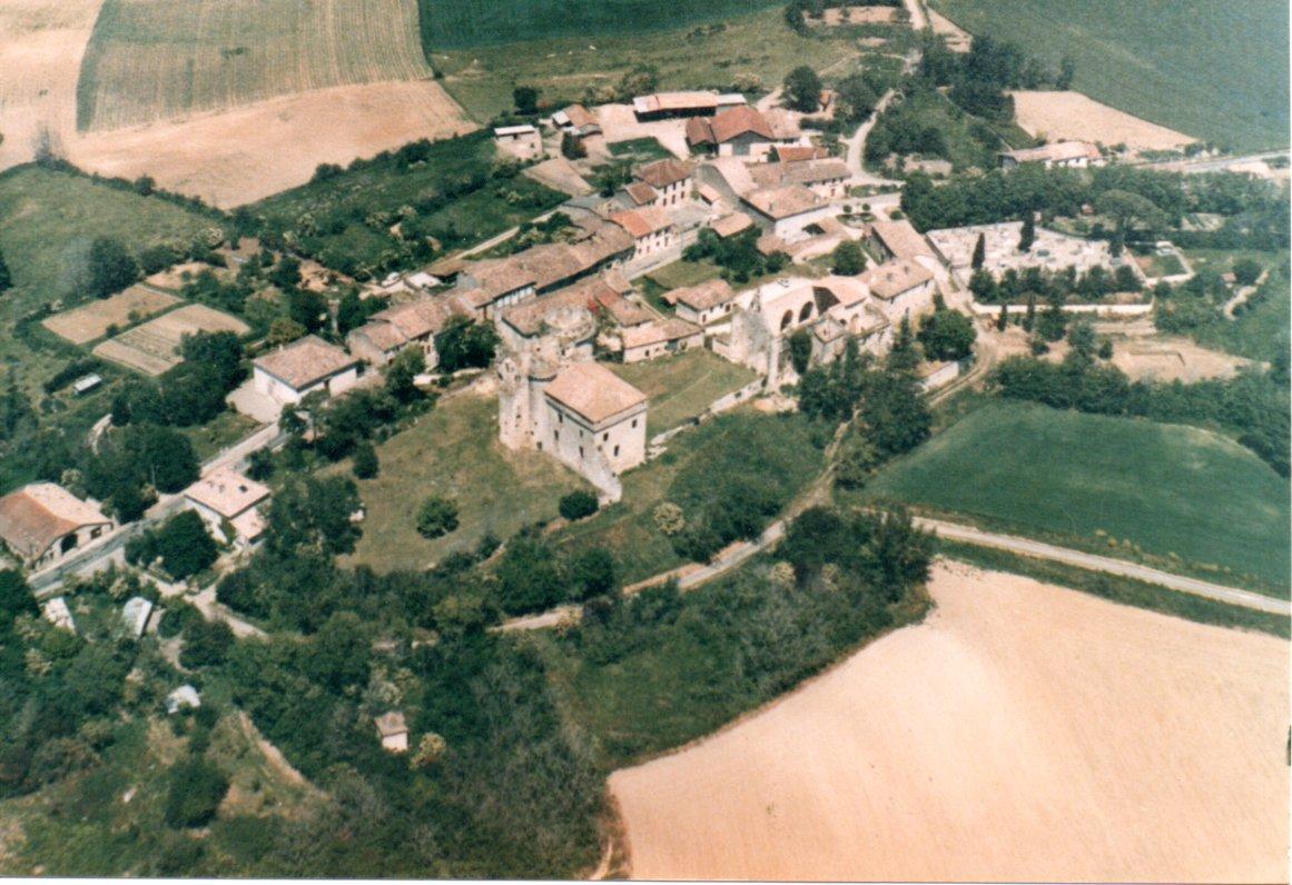 Vue aérienne vers 1980