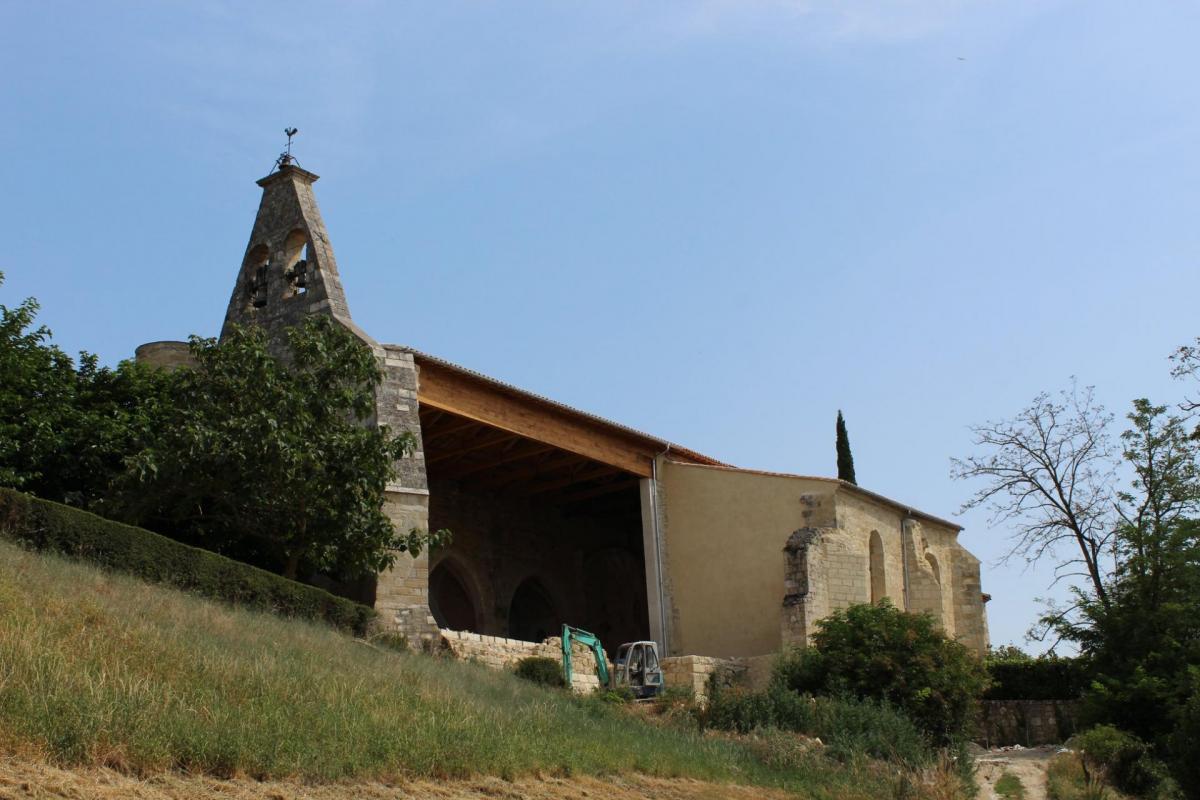 L'église a retrouvé une toiture