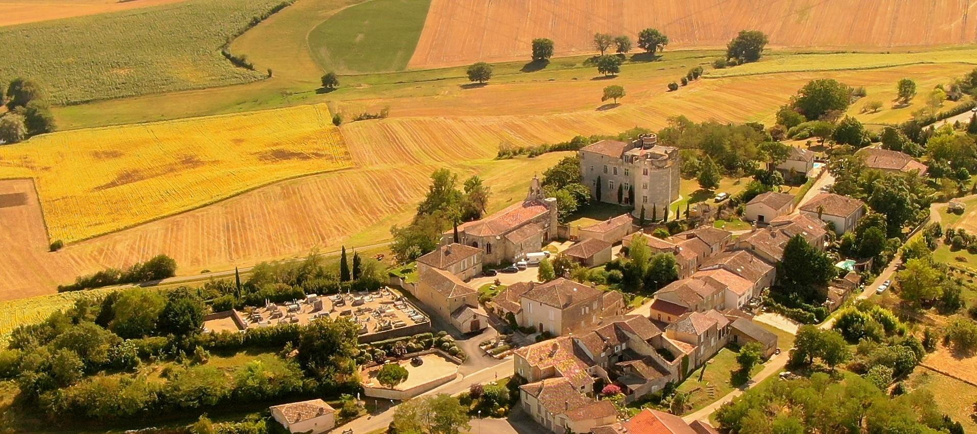 Sauvegarde du Patrimoine du village de Flamarens dans le Gers